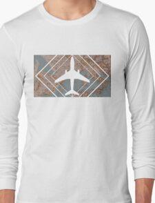 Plane shadow Long Sleeve T-Shirt
