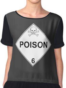 POISON - LEVEL 6 Chiffon Top