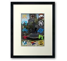 Cs:Go Teams 2 Framed Print