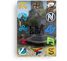 Cs:Go Teams 2 Metal Print