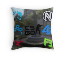 Cs:Go Teams 2 Throw Pillow