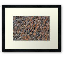 Gneiss Rock Framed Print