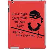 Good Night iPad Case/Skin