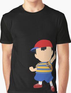 Ness - Super Smash Bros. Graphic T-Shirt