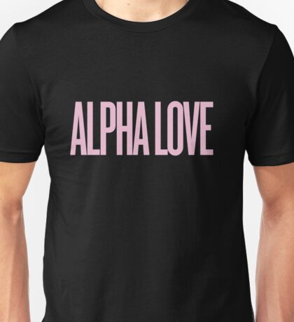 Alpha Love (ADPi) Beyonce Inspired  Unisex T-Shirt