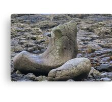 Giants Shoe at the Giants Causeway Canvas Print