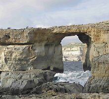 The Azure Window  - Gozo Island Malta by mikequigley