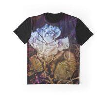 Metalic Rose Graphic T-Shirt