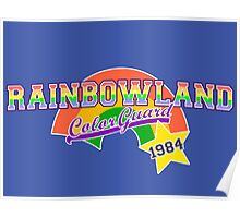 Rainbowland Color Guard Poster