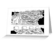 Bridge Church Greeting Card
