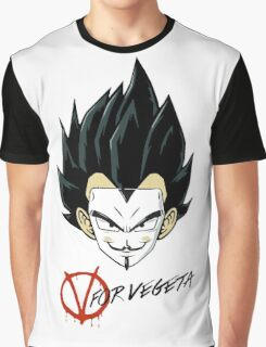 V for Vegeta Graphic T-Shirt