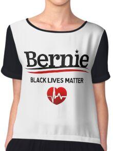Bernie Sanders - Black Lives Matter Chiffon Top