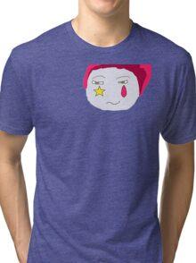 Hisoka's Face Cartoon Style Tri-blend T-Shirt