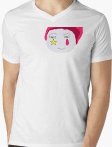 Hisoka's Face Cartoon Style Mens V-Neck T-Shirt