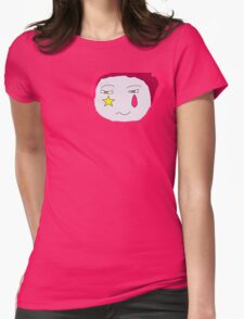 Hisoka's Face Cartoon Style Womens Fitted T-Shirt