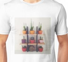 Cactuses and Succulents Unisex T-Shirt