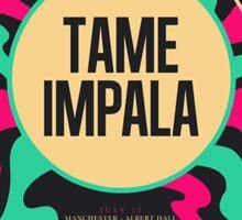 Tame Impala Tour Poster Sticker