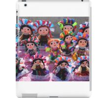 Colorful Ribbon Dolls in Cabo San Lucas, Mexico  iPad Case/Skin