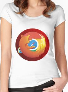 Browser mashup Women's Fitted Scoop T-Shirt