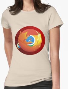 Browser mashup Womens Fitted T-Shirt