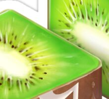 Diced Kiwi Sticker