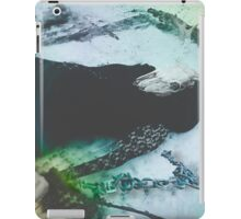 Floating above the snow iPad Case/Skin