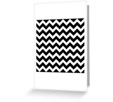 Seamless artist pattern texture: Black and White Greeting Card