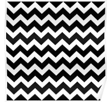 Seamless artist pattern texture: Black and White Poster