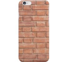 fragment of a brick wall iPhone Case/Skin