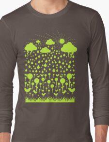 Summer Green Long Sleeve T-Shirt