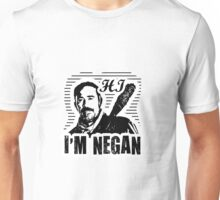 """Hi, I'm Negan""  The Walking Dead Graphic (unofficial) Unisex T-Shirt"