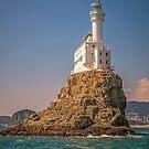 Oryukdo Lighthouse Island, Busan, South Korea by TonyCrehan