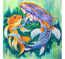 Koi Mermaid  Photographic Print
