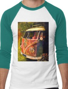 Live your dreams Men's Baseball ¾ T-Shirt