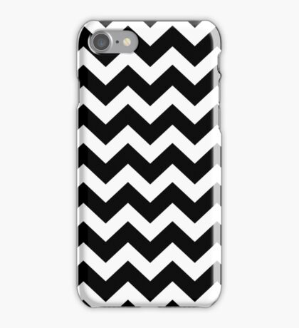 Seamless artist pattern texture: Black and White iPhone Case/Skin