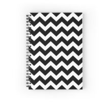 Seamless artist pattern texture: Black and White Spiral Notebook