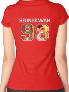 SEVENTEEN - Seungkwan 98 Women's Fitted Scoop T-Shirt