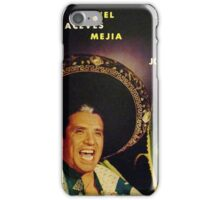 Mexican Mariachi Lp cover iPhone Case/Skin