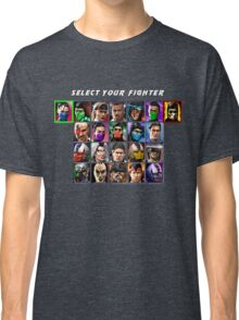Ultimate Mortal Kombat 3 Character Select Classic T-Shirt