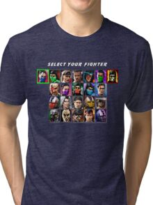 Ultimate Mortal Kombat 3 Character Select Tri-blend T-Shirt