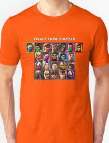 Ultimate Mortal Kombat 3 Character Select T-Shirt