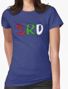 3RD Collection Womens Fitted T-Shirt
