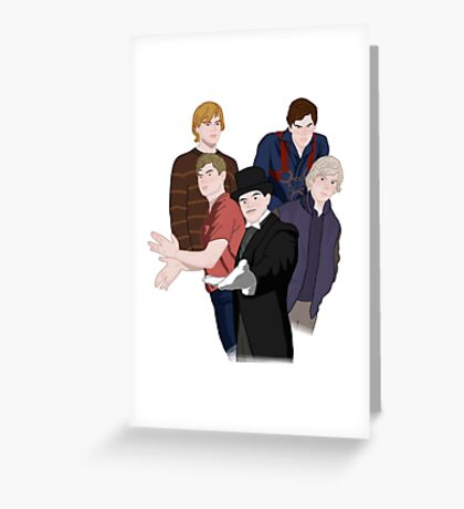 AHS Evan Greeting Card