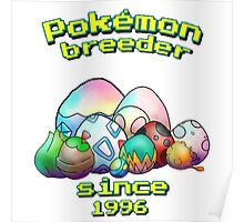 Pokemon Breeder Poster