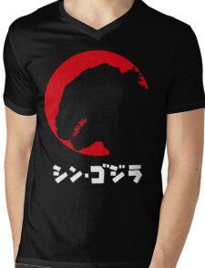 Godzilla Resurgence Mens V-Neck T-Shirt