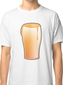Beer drink glass Classic T-Shirt