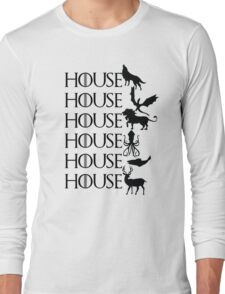Game of Thrones - House Long Sleeve T-Shirt