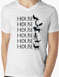Game of Thrones - House Mens V-Neck T-Shirt