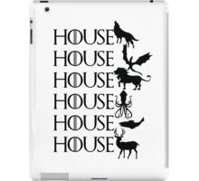 Game of Thrones - House iPad Case/Skin