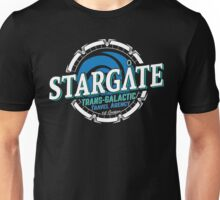 Stargate - Trans-galactic travel agency - blue Unisex T-Shirt